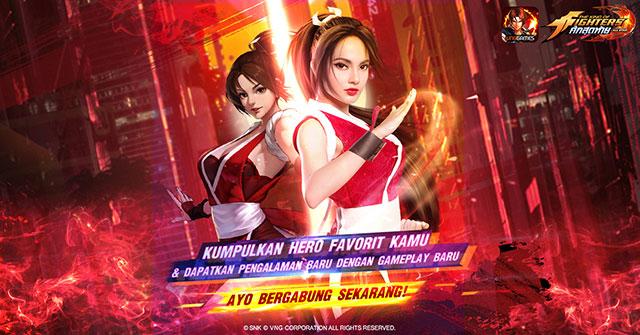 Mai KOF Pertarungan Sengit Allstar