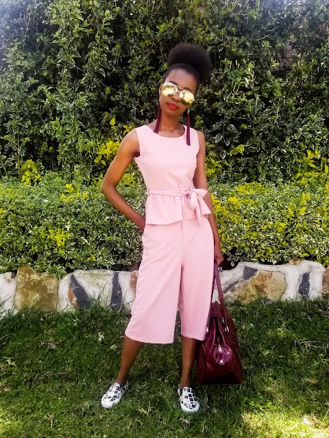 Happy Holidays! How I Styled My Pink Two Piece Set