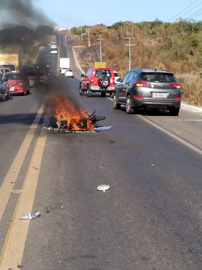 Bombeiro do Piauí morre em grave acidente na BR-316 entre Caxias e Timon; vídeo