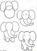 كيفية رسم الحيوانات للأطفال