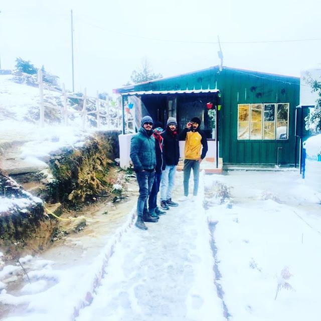 Winter View Foresta Café