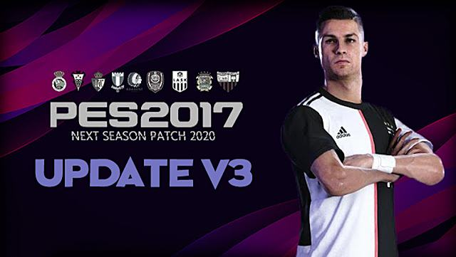 PES 2017 Unofficial Update Next Season Patch 2020 V3