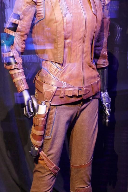 Avengers Endgame Nebula costume detail