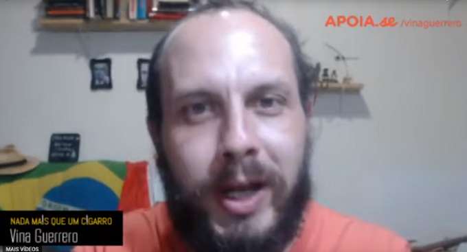Youtuber Vinicius Guerreiro extremista de esquerda que ameaçou Bolsonaro e sua Família diz 'Eu estou com medo e arrependido'