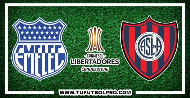 Ver Emelec vs San Lorenzo EN VIVO Por Internet Hoy 6 de Julio 2017