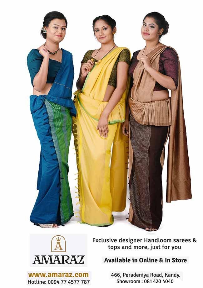 Amaraz Fashion, Kandy - Timeless Handloom Saree Fashion.