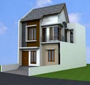 desain rumah minimalis 2 lantai ukuran lebar 6 panjang 12 meter