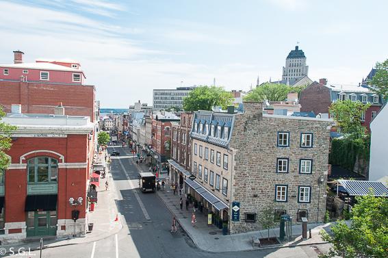 Quebec vista desde su muralla