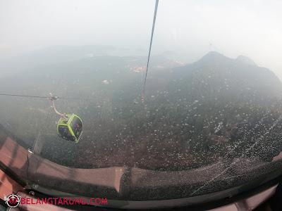 Dalam Cable Car Skycab Langkawi