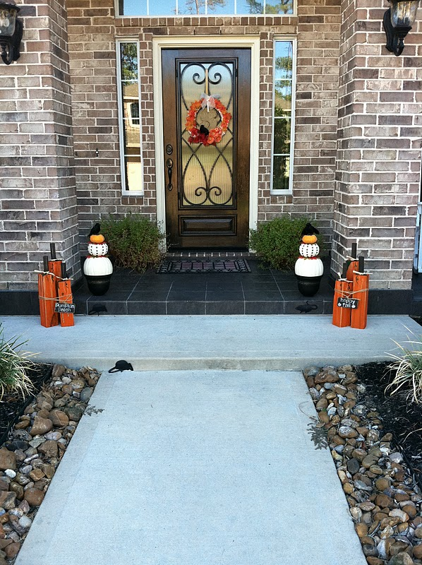Prudently Painted Vintage Fall Topiaries
