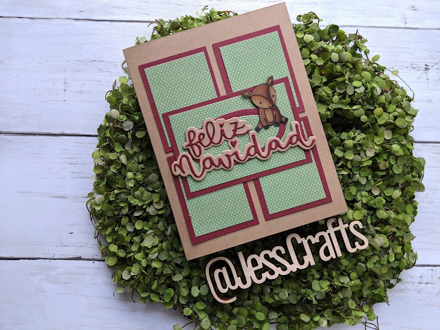 Card for One Sheet Wonder Template #21 by Jess Crafts