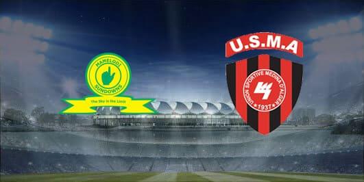 مباراة إتحاد الجزائر وماميلودي سونداونز بتاريخ 28-12-2019 دوري أبطال أفريقيا
