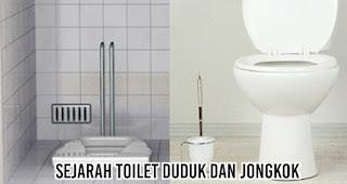 sejarah Toilet Duduk dan Jongkok
