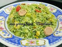 Resep dan cara membuat Nasi Goreng Hijau / Green fried rice
