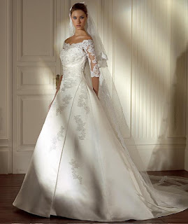 England Wedding Dress For Bride