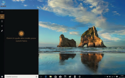 gesture windows 10 avviare cortana