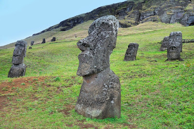 Easter Island - pacific island megaliths