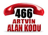0466 Artvin telefon alan kodu