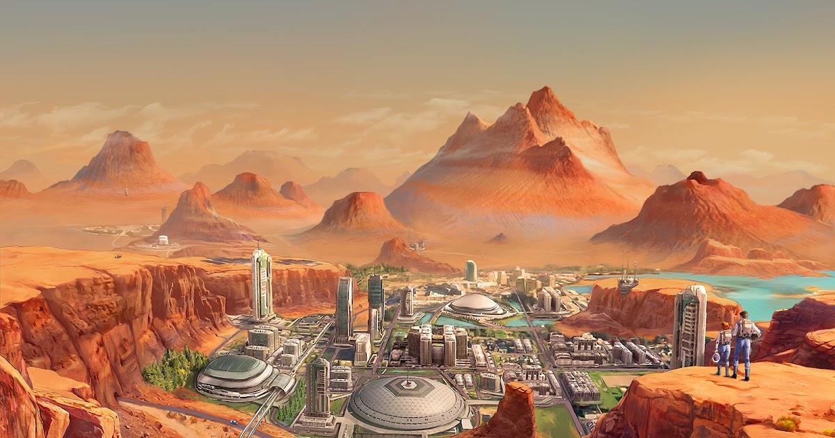 Human colony on terraformed Mars by Tiago da Silva
