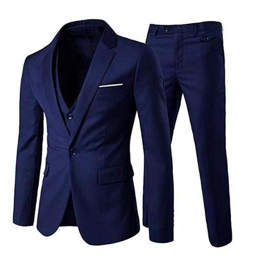 SIim fit traje elegante para hombre
