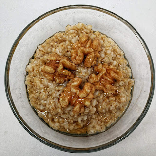 A hot and hearty breakfast is it easy as throwing steel cut oats and some tap water into your Instant Pot.