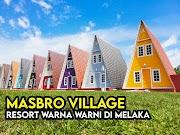 Masbro Village Homestay Melaka Warna Warni Ala Gamcheon Culture Village