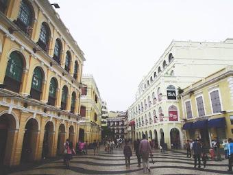 Largo do Senado, Macau: Where Cultures Converge