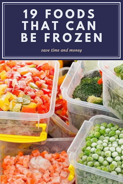 What foods can you freeze? Here's a list of frozen food ideas to save you time and save money on your grocery budget.  This list is the uncommon foods that you can freeze, so these ideas and tips and tricks may surprise you! Get a list of freezer safe foods and packaging ideas. Use it to stockpile or for freezer cooker.  Save time on kitchen meal prep with these kitchen hacks and lifehacks. #cooking #frugal #freezer