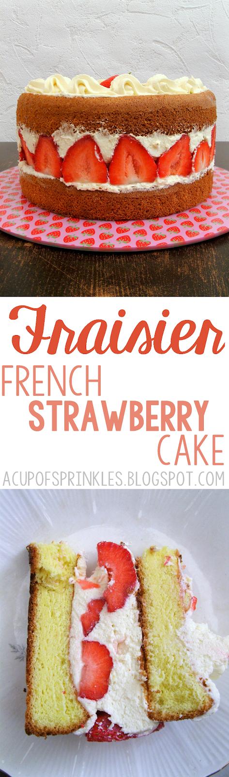 french strawberry dessert
