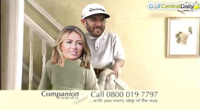 Dustin Johnson Funny Video