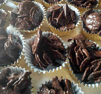 Resepi Cornflake Coklat