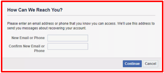Facebook Recover Password Without Resetting