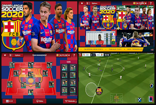 Download Dream League Soccer 2020 Mod Apk Barcelona