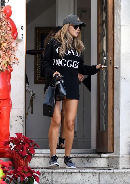 Larsa Pippen shopping in Miami