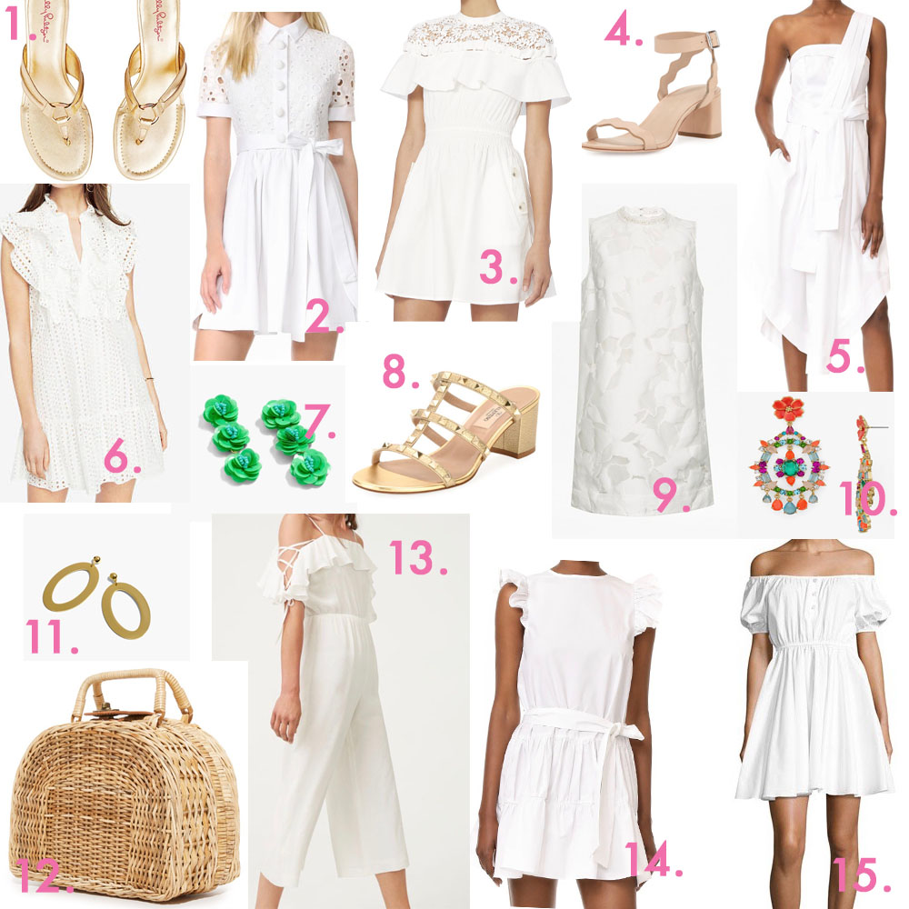 dd771b0244125 LITTLE SUMMER WHITES (and a few pops of color)
