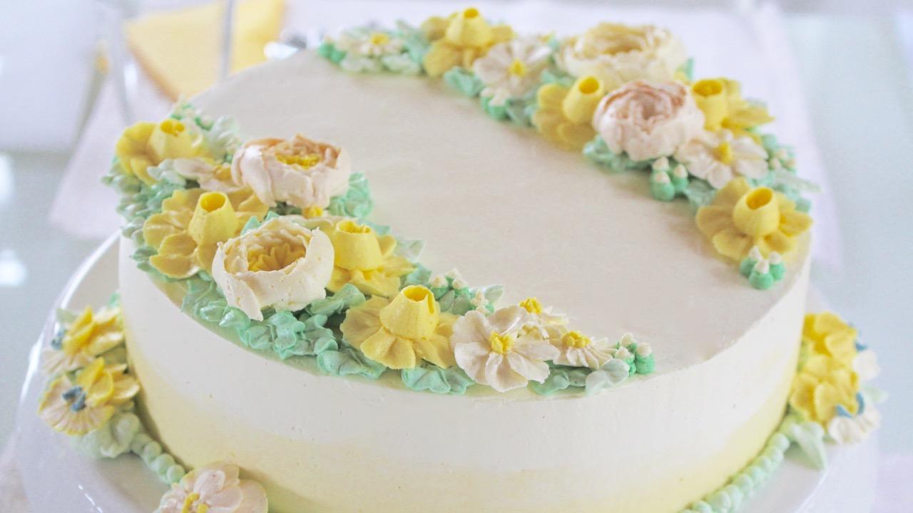Neue Buttercreme Blüten Kurse