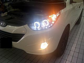 Head Lamp Hyundai Tucson
