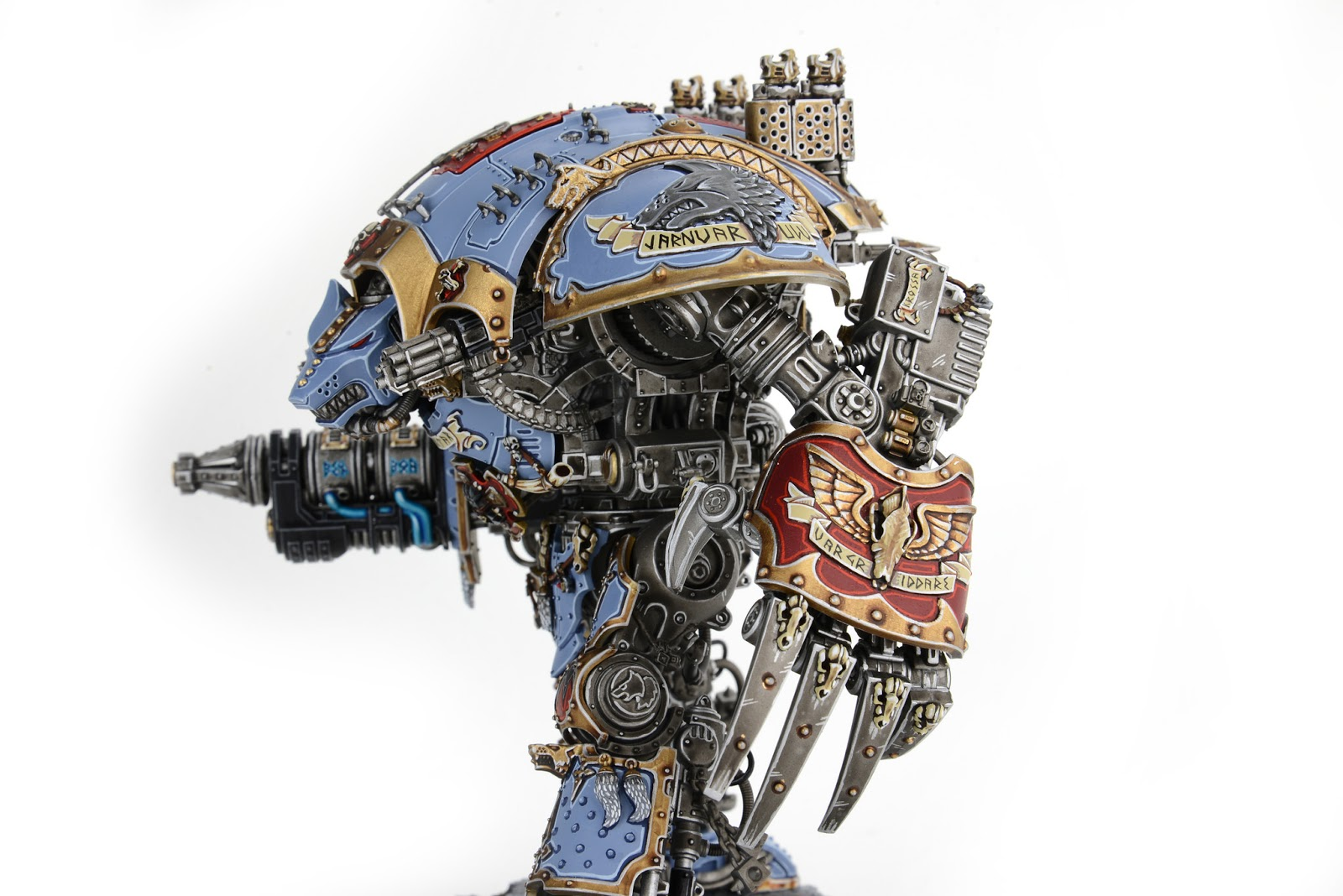 House Blueprint Software Showcase Space Wolves Themed Imperial Knight By