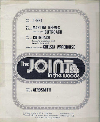 The Joint In The Woods flyer