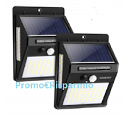 Logo Vinci gratis due pack lampade a energia solare Homeasy