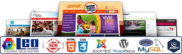 Diseño y desarrollo de paginas web en Manizales