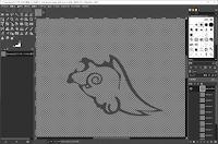 GIMPでテクスチャを読み込む