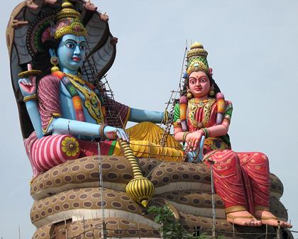 Tamil statue