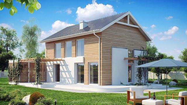 каркасный дом для проживания проекты