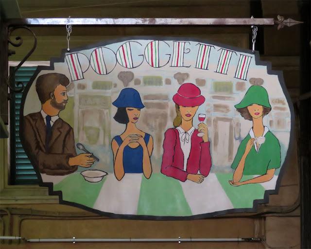 Poggetti hot dishes, Mercato Centrale, Livorno
