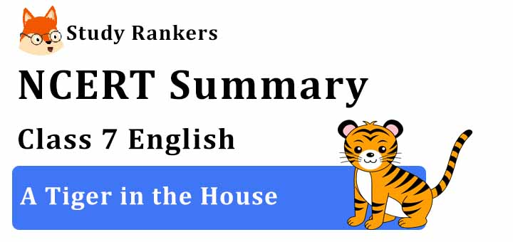 Chapter 9 A Tiger in the House Class 7 English Summary