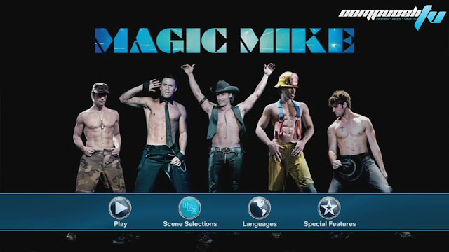 Magic Mike DVDR NTSC Español Latino Menú Full 2012
