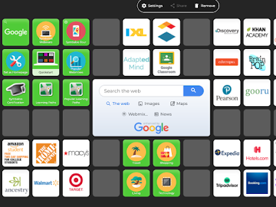 SymbalooEdu : A Great Bookmarking Tool for Teachers and Students