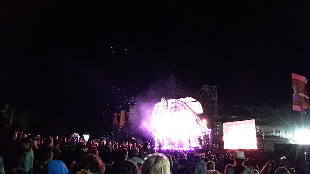 Camp Bestival Castle Stage Jess Glynne // 76sunflowers