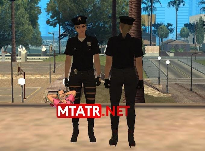 MTA SA Female Police skin